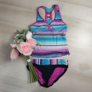 ZeroXposure tankini sport swimsuit
